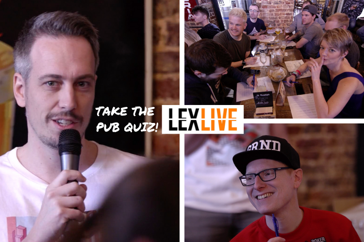 The Lex Live Pub Quiz