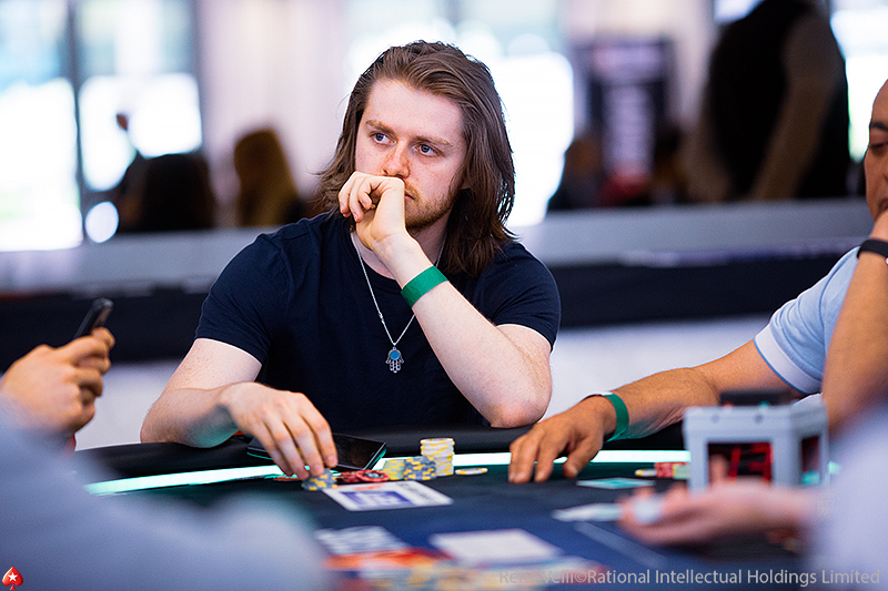 Charlie Carrel in action at EPT Monte Carlo