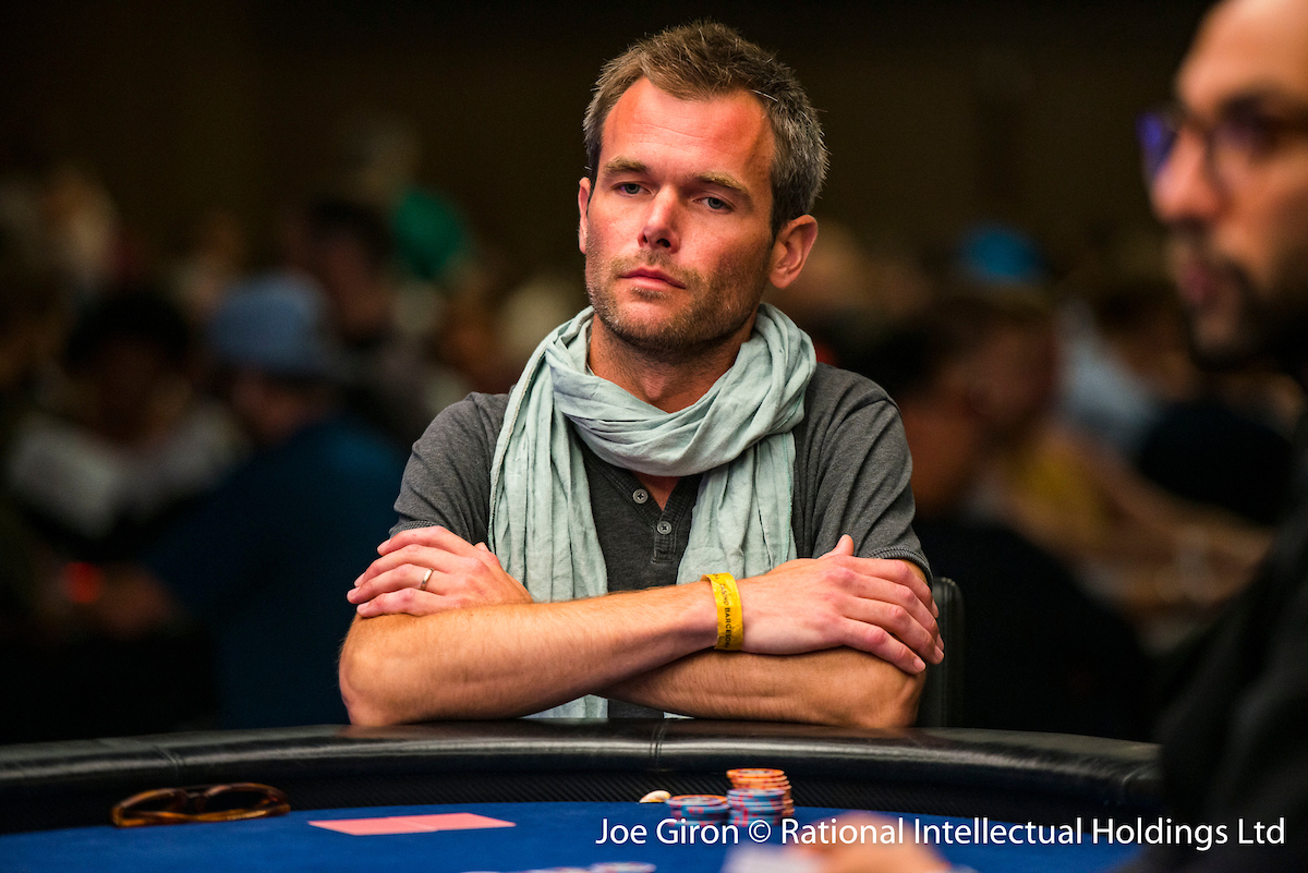 Clement Eloy at the Chase Your Dream feature table in Barcelona