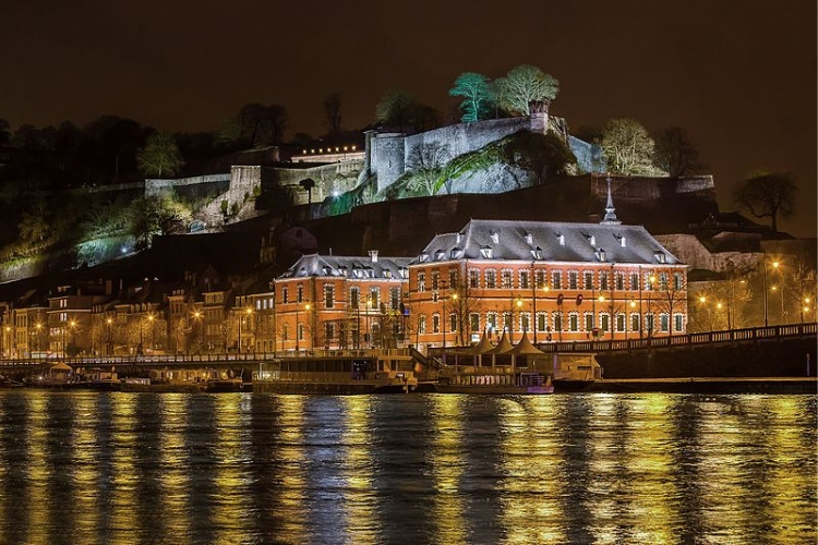 Namur, Belgium where poker players can win a Platinum Pass this September