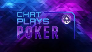 Chat Plays Poker starts this Thursday at 8pm BST on the PokerStars Twitch Channel