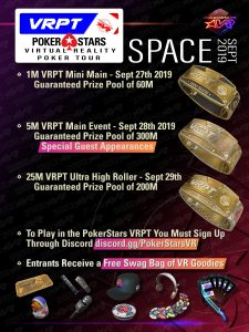 Introducing the VRPT: A brand new PokerStars Tour that's out