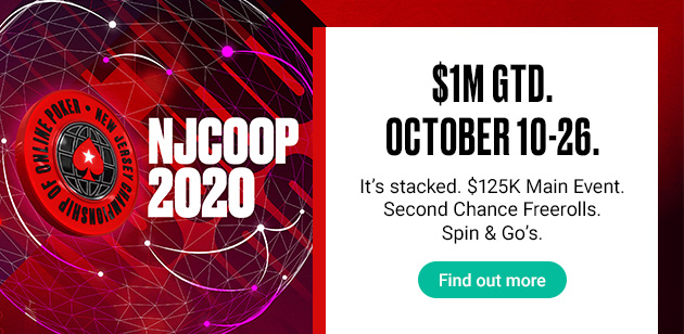 NJCOOP takes place Oct. 10-26 with $1M in guarantees