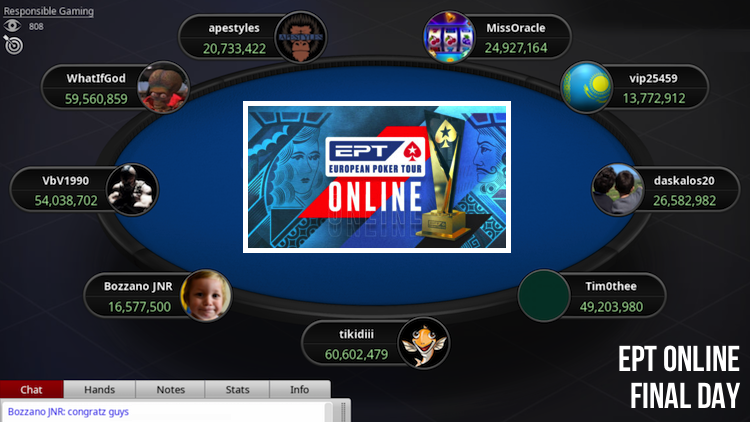 EPT Online Final Day