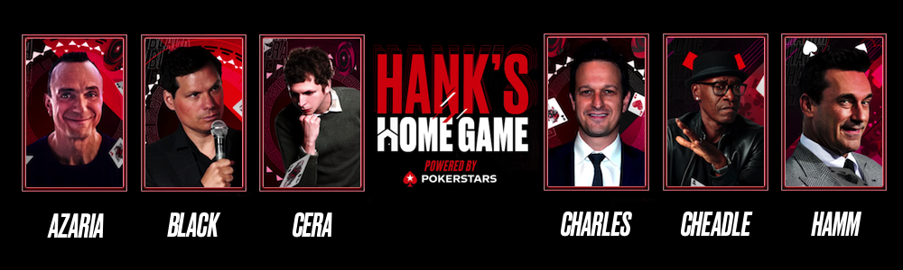 Hank's Home Game debuts on PokerStars' YouTube channel