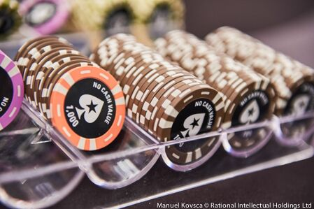 Pokerstars Chip Rack